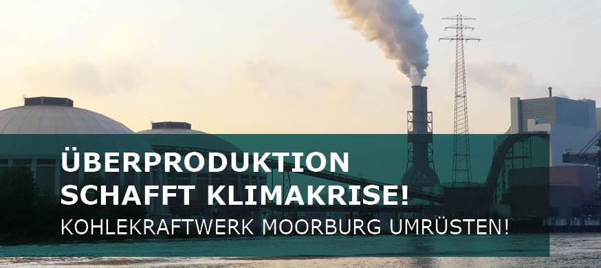 Überproduktion schafft Klimakrise!